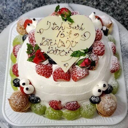 りおんちゃん16歳お誕生日
