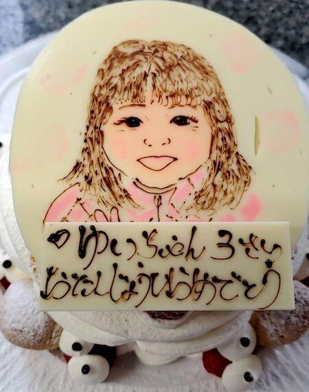 ゆいちゃん3歳お誕生日
