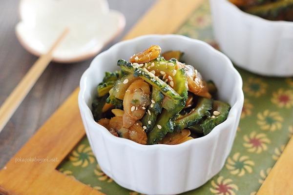 あさり入りゴーヤ佃煮|冷凍むきあさり活用でより美味しく!
