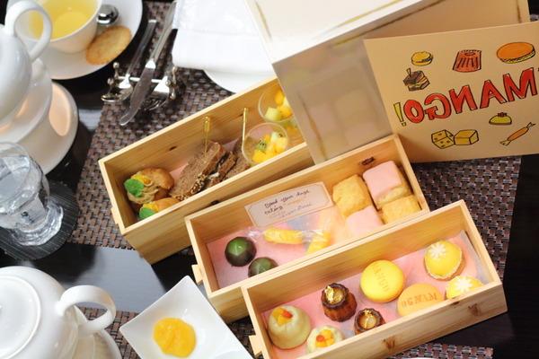 宮崎県産完熟マンゴーづくしのAfternoon TEA