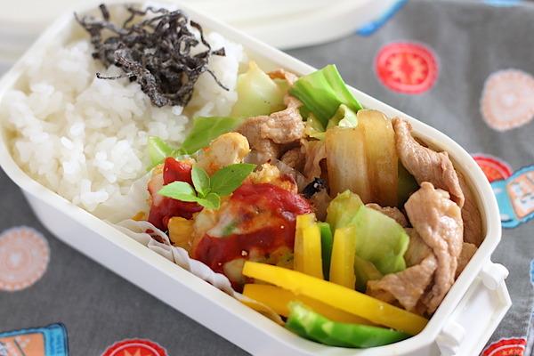 【大学生弁当】簡単回鍋肉レシピ付き