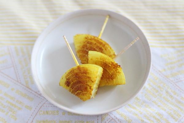 玉ねぎのカレー粉焼き