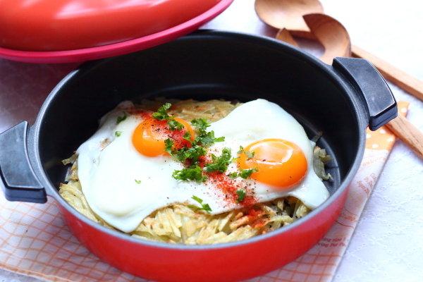 ちょっと豪華なハッシュドポテト~スイス郷土料理レシュティ~