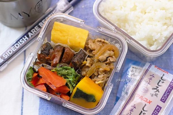 魚もお肉も卵も野菜もある簡単弁当