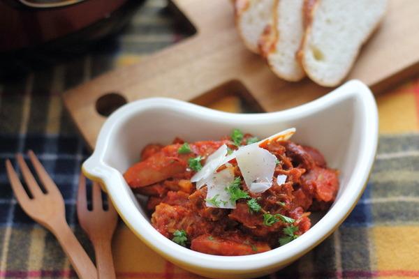 トリッパのトマト煮 ~セロリズッペン&電気圧力鍋で簡単に作ったらこんなレシピ