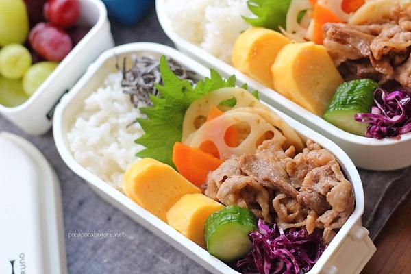 焼肉弁当とおいしい甘酢煮レシピ|牡蠣だし醤油使ったことある?