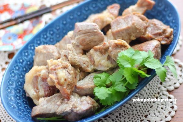 ジンジャーポーク|塩豚に生姜をプラスした 作り置きにもぴったりなおかず
