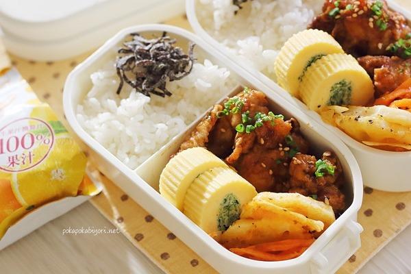 今日の唐揚げ弁当+副菜レシピ|今までの唐揚げ弁当振り返り