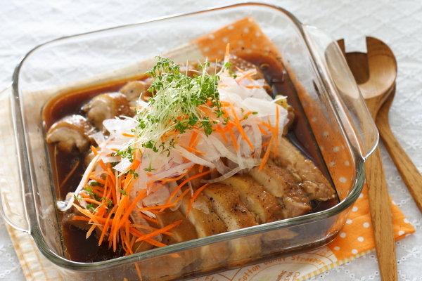 レンジで作る簡単鶏チャーシューレシピ