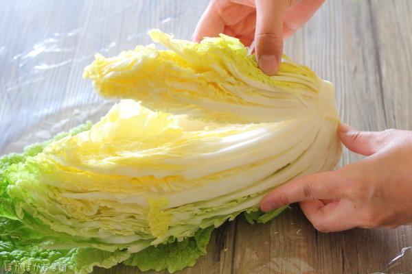 カット白菜1/4を買ってきたらする事/白菜の黒い斑点は何?