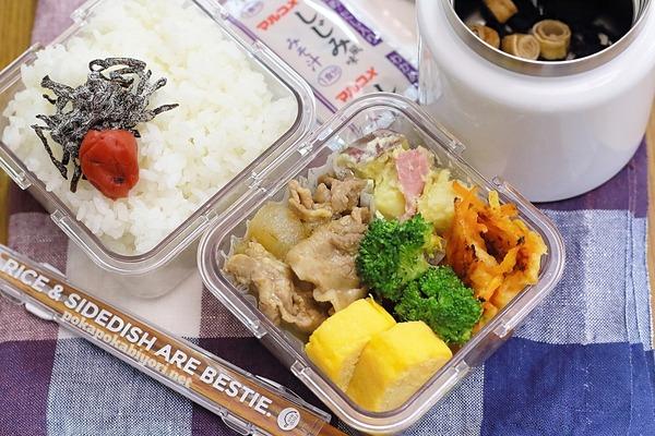 夜作って冷蔵保存→保冷袋で持参|会社でレンジで温めて食べる弁当