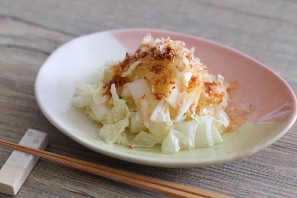 シンプルだけどおすすめの食べ方【茹で白菜のおかか醤油】