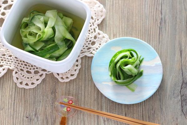 きゅうりの漬ける・和えるレシピ/食材ごとのレシピまとめてます。