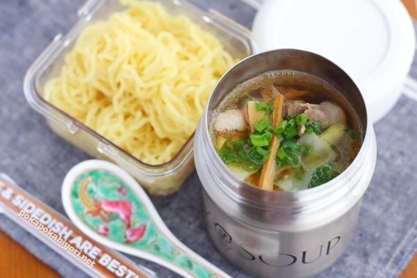 スープジャーレシピ|鶏がら醤油ラーメン