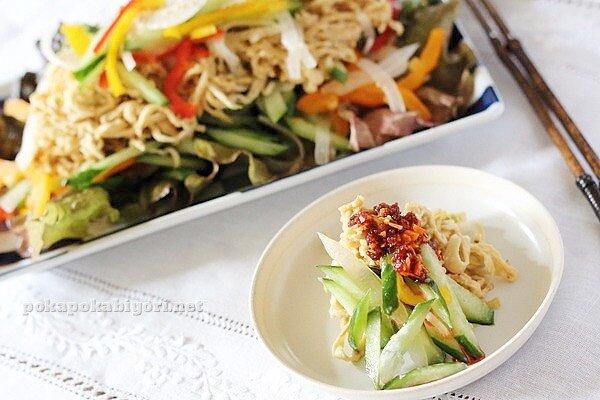切り干し大根の棒棒鶏味サラダ|七草花壇(ガーデニング)の様子