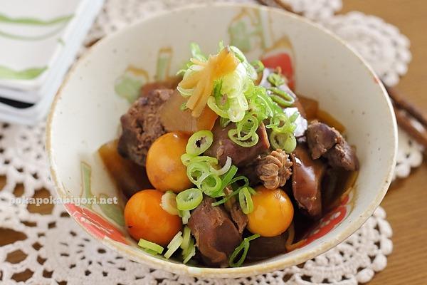 鶏もつと大根の煮物|下茹であっさり&柔らかく仕上げるコツ