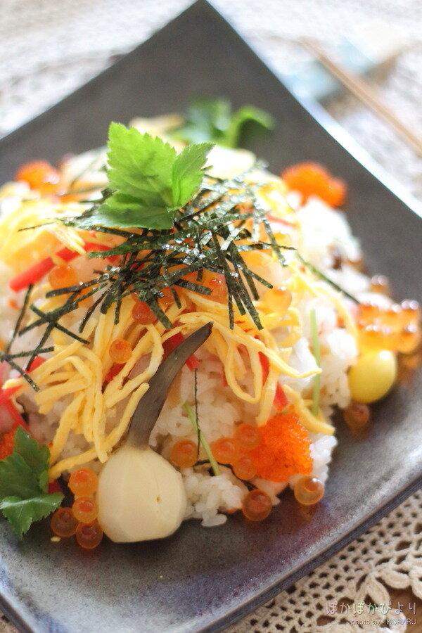 おせち料理のリメイクにちらし寿司