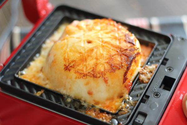 チーズとろとろイタリアン風アレンジ豚まん