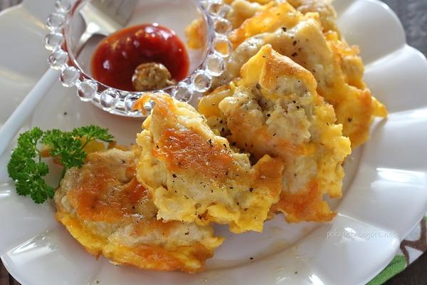 鶏肉のチーズピカタ|チーズ加えて美味しさUP!お弁当おかずにもおすすめ。