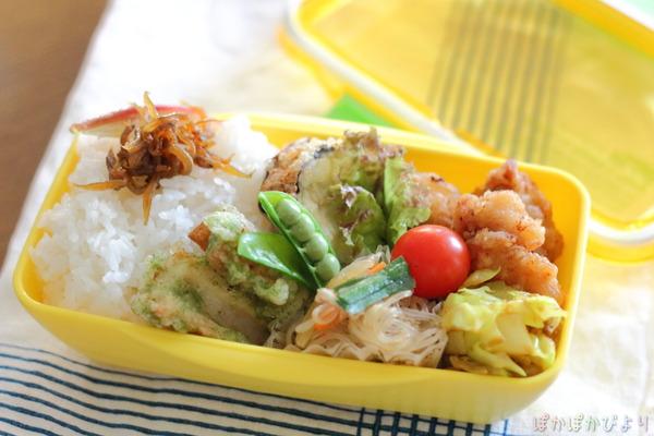 作りおきおかずで楽ちん弁当(朝詰めるだけ)/唐揚げの冷凍方法