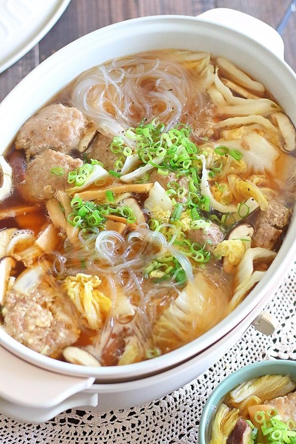 【ショート動画付き】ふわふわ肉団子のスープ|大満足ボリュームスープでご飯にもぴったり!
