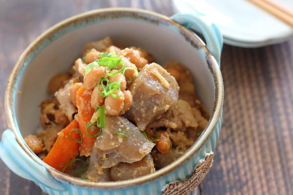 大豆のごまみそ煮|ヘルシー&たんぱく質もたっぷりな作り置き副菜
