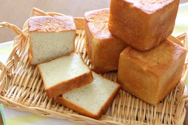 7.5cmのキューブパン ~朝焼きたてを食べる方法:冷蔵庫で最終発酵
