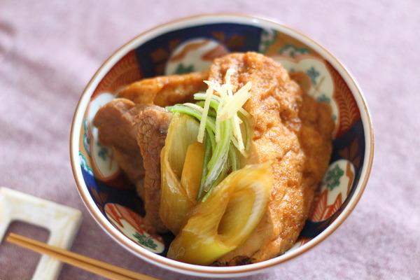 厚揚げのすき煮風を南九州の甘醤油【黒都城】で作ってみた話 ~お昼ごはんの写真