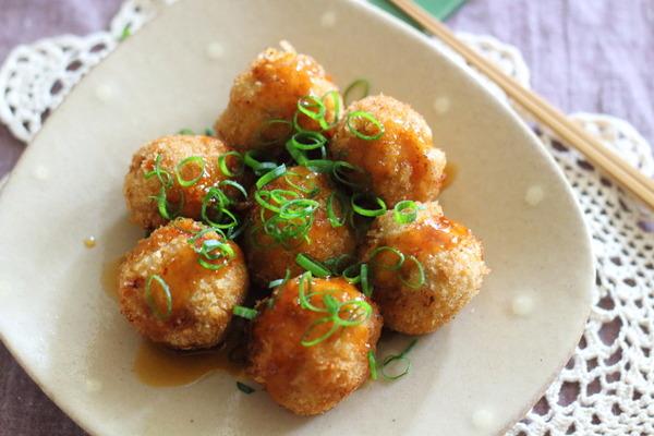 【ヘルシーメンチカツ】豆腐とキャベツでかさまし!~しゃべるエアコンと賢いリモコン~