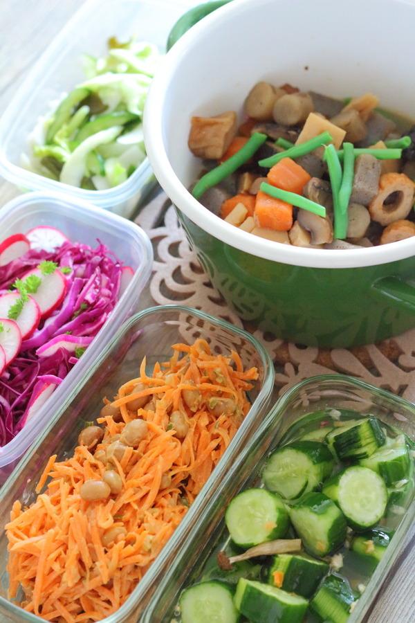 お野菜多めの作り置き