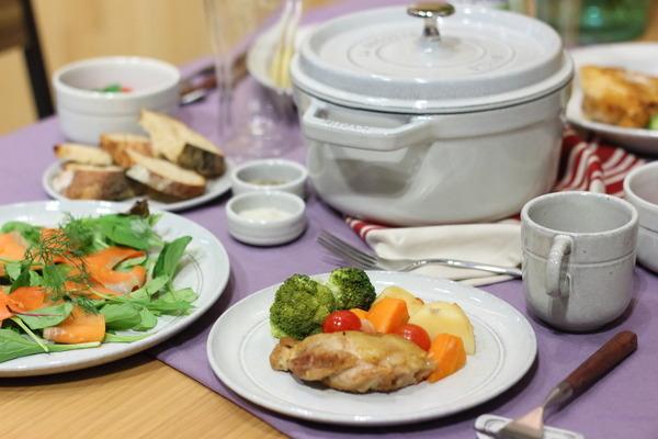 【イベント】staub新色カンパーニュ |ストウブ鍋調理のコツなどイベントの様子