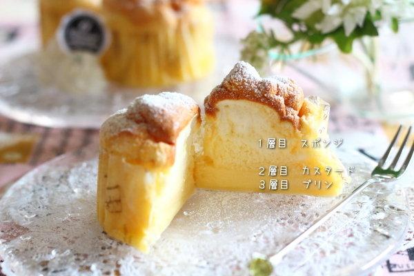 サラダ油で作るマジックケーキ ~マフィン型でミニサイズ
