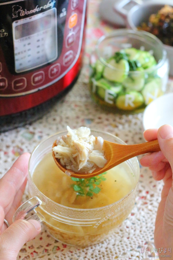 しっかり食べて痩せたいダイエットに!きのこたっぷりスープ