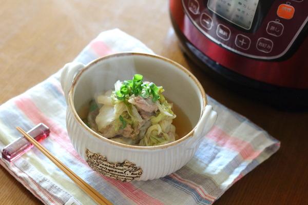 豚肉と白菜のくたくた煮 ~と、昨日感じた事をめずらしく文字に・・・