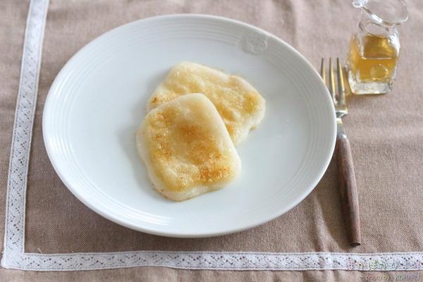 一番好きなお餅の食べ方【バター焼き×白だし】
