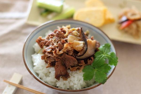安いお肉もやわらか~一瞬加圧で作る【牛丼】レシピ