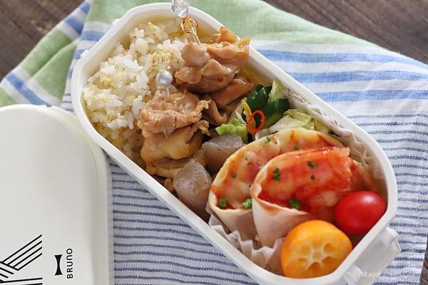 弁当記録|ミニ焼きとり・レンジこんにゃく煮・浅漬けレシピ付き