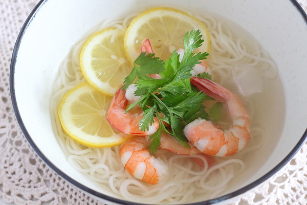 エビレモン素麺|おいしさレベルで言うとかなり上!おすすめレシピ