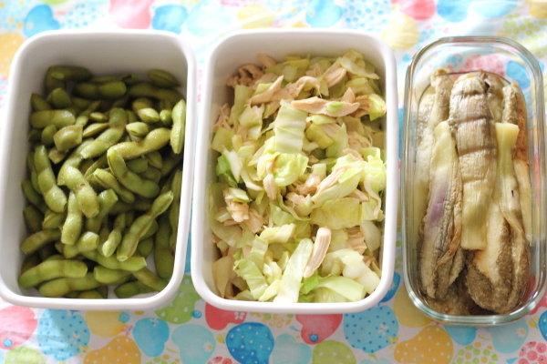冷蔵庫に残ってる食材で作る3日分のお助けおかず9品とその1行レシピたち Part.2