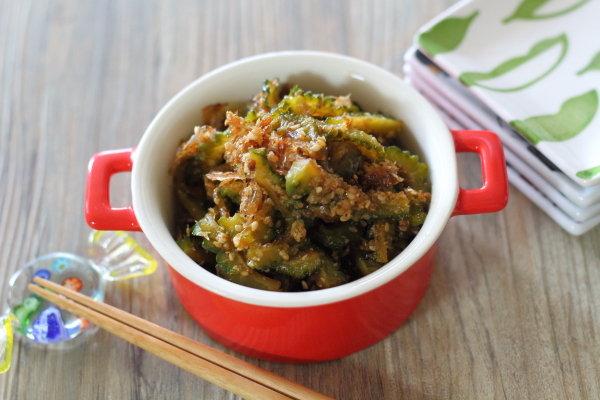 ゴーヤの佃煮 ~時々食べたくなる大葉にんにく醤油