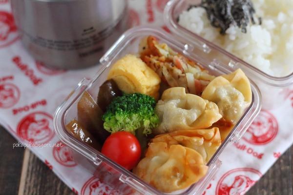 揚げ餃子の弁当|作り置きの様子+関連レシピ