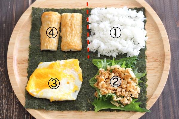 SNSで大人気♪【折りたたみキンパ】のレシピ|ちくわの天ぷら風♪春休みのご飯にも!