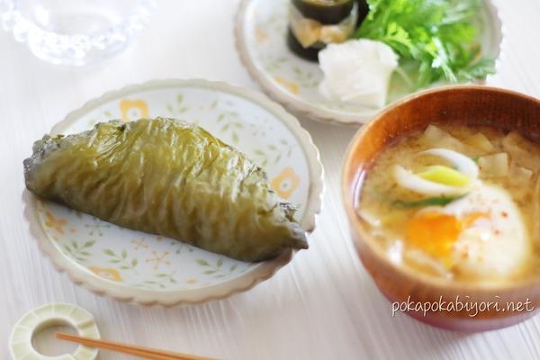 青森(津軽)の郷土料理「若生おにぎり」を作った話