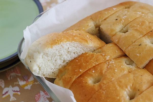 米油で作るフォカッチャ|ご飯の代わりの食卓パン