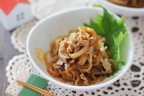 牛肉と糸こんにゃくの甘辛煮|下茹でしてあっさり上品な仕上がり