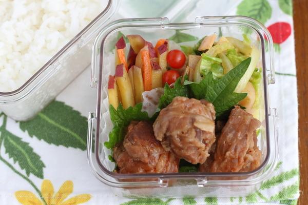 電子レンジ5分で作る肉団子(ひっくり返す必要なし)レシピ|今日の簡単弁当