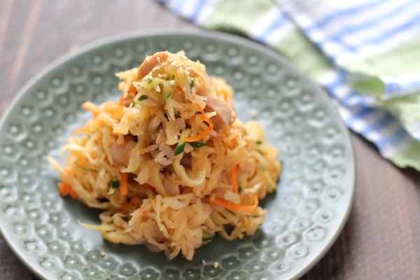 切干大根のおいしすぎるレシピ✨中華風切干大根サラダ