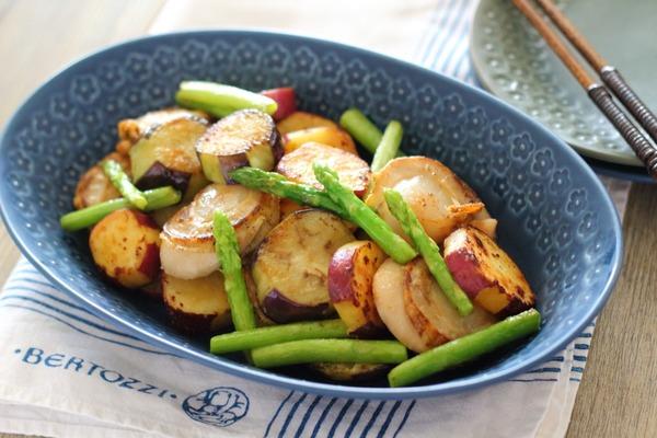 ほたてで絶品野菜炒め/解凍方法や調理のコツ付き