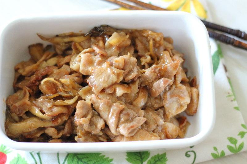 茸 炒め 舞 豚肉 もやし、豚肉、えのきのオイスターソース炒め のレシピ