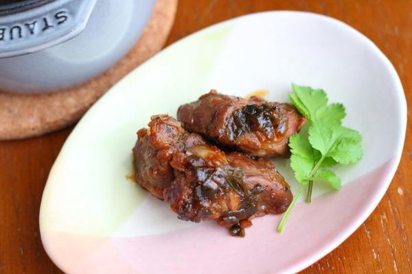 ラム肉の味噌煮込み|お弁当のおかずにもぴったり!